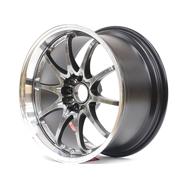 VOLK RACING CE28N 18×9.5 5×114.3 +28 Formula silver FD finish wheel set