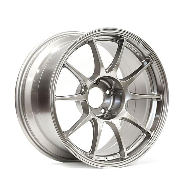 WedsSport TC105N 17×9″ +10 5×114.3 TS Titan finish wheel set