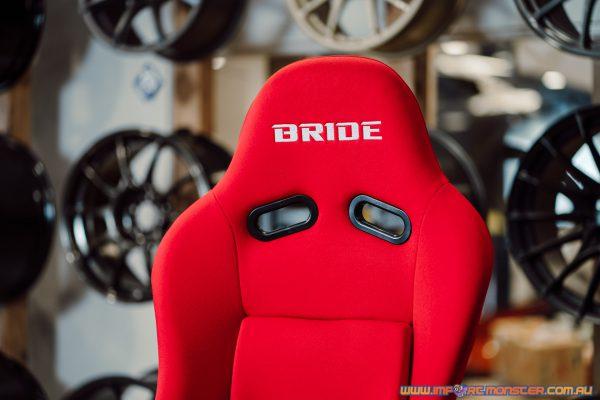 Bride ZETA III XL - Red