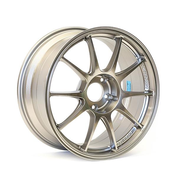 WedsSport TC105N 18×8.5″ +32 5×114.3 TS TITAN finish wheel set