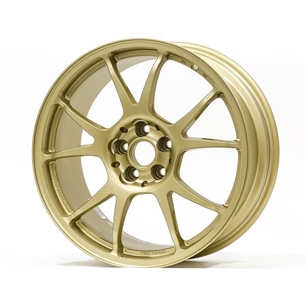 TWS Motorsport T66-F 17×8″ +42 5×100 Flat Gold Wheel Finish