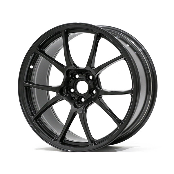 TWS Motorsport T66-F 18×9″ +44 5×100 Gloss Gunmetal Finish Wheel Set