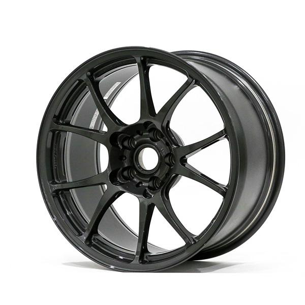 TWS Motorsport T66-F 18×10″ +20 5×114.3 Gloss Gunmetal Finish Wheel Set