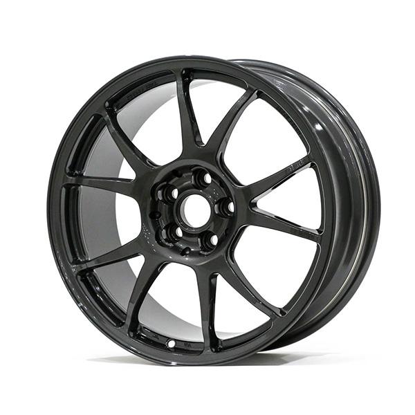TWS Motorsport T66-F 17×8″ +42 5×100 Gloss Gunmetal Finish Wheel Set