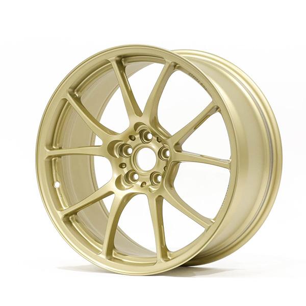 TWS Motorsport T66-F 18×8.5″ +42 5×100 Flat Gold Wheel Finish Set