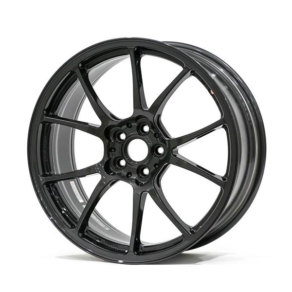 TWS Motorsport T66-F 18×8″ +44 5×100 Gloss Gunmetal Finish Wheel Set