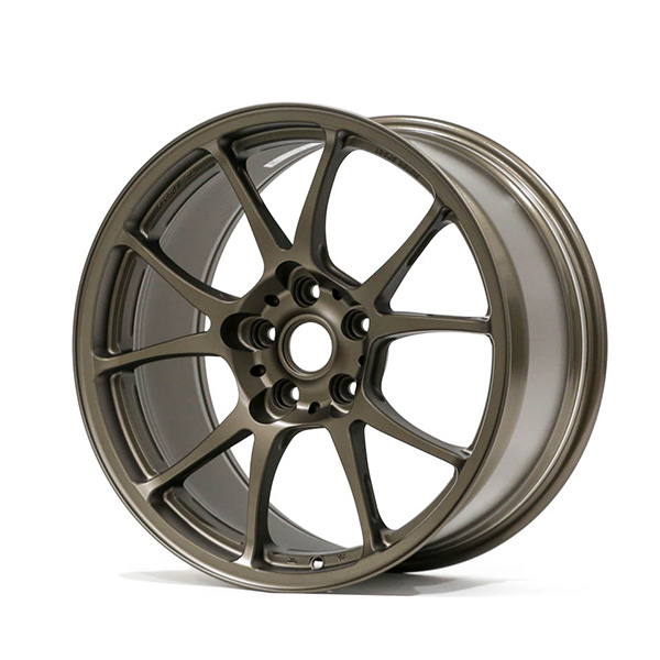 TWS Motorsport T66-F 18×9.5″ +40 5×114.3 Flat Bronze Finish Wheel Set