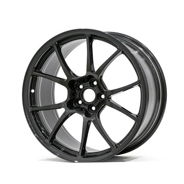 TWS Motorsport T66-F 18×9.5″ +45 5×100 Gloss Gunmetal Finish Wheel Set
