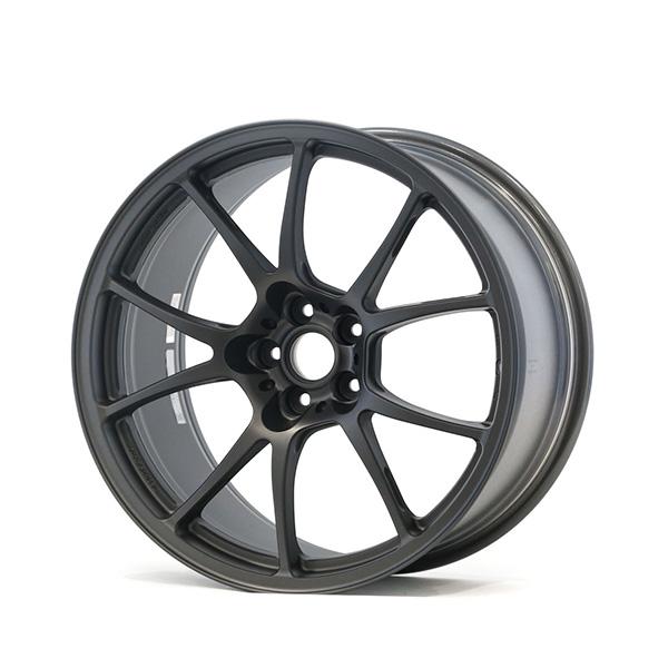 TWS Motorsport T66-F 18×10 +40 5×100 Flat Gunmetal finish wheel set
