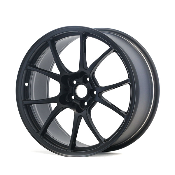 TWS Motorsport T66-F 18×9.5 +38 5×100 Flat Black finish wheel set