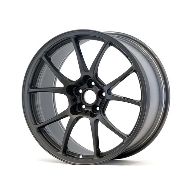 TWS Motorsport T66-F 18×9.5 +38 5×100 Flat Gunmetal finish wheel set