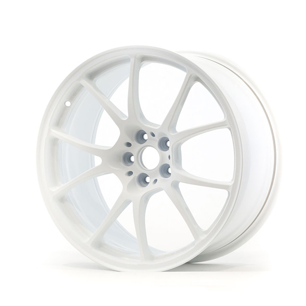 TWS Motorsport T66-F 18×9.5 +38 5×100 Flat White finish wheel set