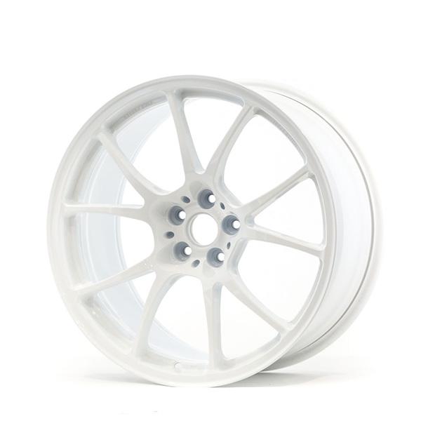 TWS Motorsport T66-F 18×9.5 +38 5×100 Gloss White finish wheel set