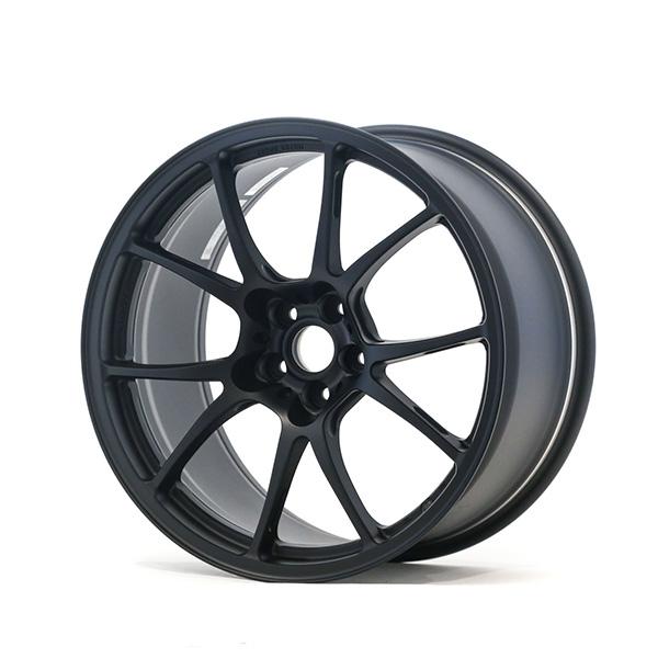 TWS Motorsport T66-F 18×10 +40 5×100 Flat Black finish wheel set