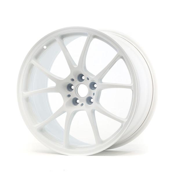 TWS Motorsport T66-F 18×10 +40 5×100 Flat White finish wheel set