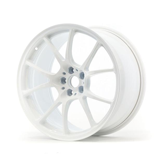 TWS Motorsport T66-F 18×10 +40 5×100 Gloss White finish wheel set