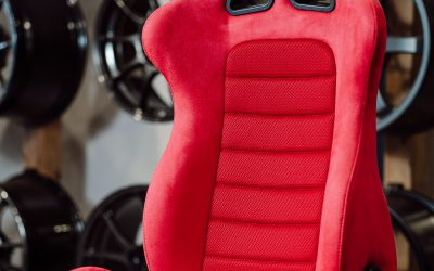 Bride EUROSTER II – Red – With Seat Heater