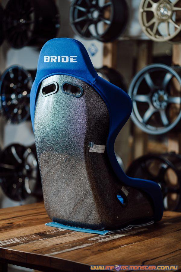 Bride ZETA III - Blue Logo