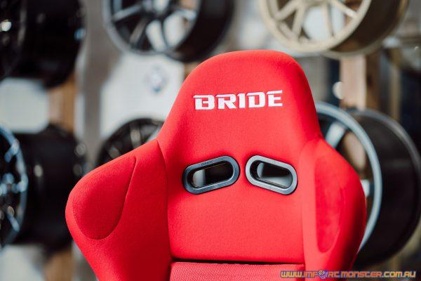 Bride ZETA III - Red Logo