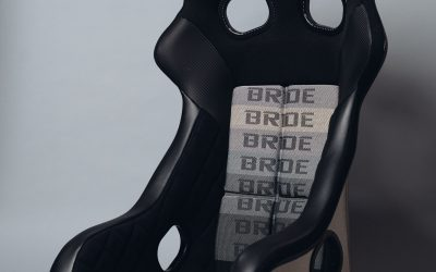 Bride XERO CS Gradation logo FIA compliant racing seat – FRP – H02GMF