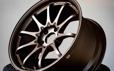 Rays Volk Racing CE28SL 18×9.5″ +38 5×114.3 Blast Bronze BB wheel set