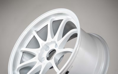 Rays Volk Racing CE28SL 18×9.5″ +38 5×114.3 White DW wheel set