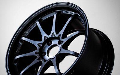 Rays Volk Racing CE28SL 18×9.5″ +38 5×114.3 Matte Black MB wheel set