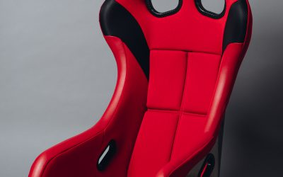 Bride ZETA IV FIA approved racing seat – Red – FRP HA1BMF