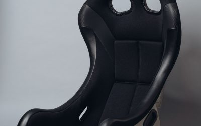Bride ZIEG IV Lowmax FIA approved racing seat – Black – FRP- HB1AMF