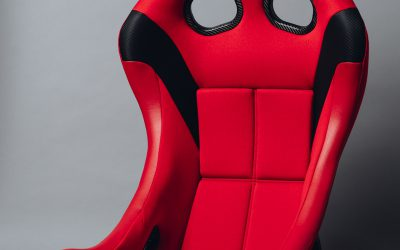 Bride ZIEG IV Lowmax FIA approved racing seat – red – FRP- HB1BMF
