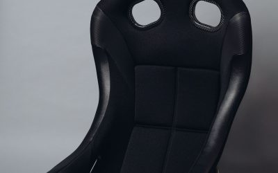 Bride ZIEG IV WIDE FIA approved racing seat – Black – FRP – HC1AMF